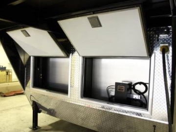 Baggage Doors, Gooseneck, 5th Wheel, Custom Trailer, Options