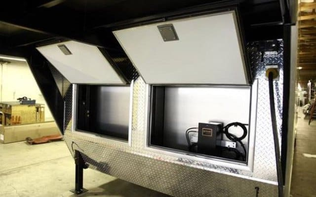 Baggage Doors, Gooseneck, 5th Wheel, Custom Trailer, Options