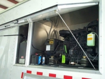 Custom Trailers, Fiber Optic, Gooseneck, Cable, Splicing