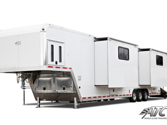 Custom Trailers, Mobile, Marketing, Product, Display, Stage, Gooseneck, Showroom