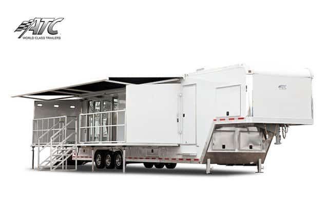 Gooseneck Mobile Showroom Trailer