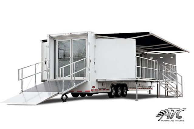 Gooseneck Mobile Showroom Trailer Mo Great Dane Trailers