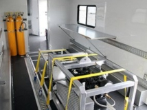 Custom Trailers, Emergency Management, Rescue, Gooseneck, Slideout, Bathroom