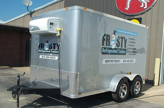 Custom Trailers, Refrigerated, Cargo, Govi