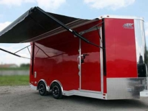 Hunter Red, Premium Colors, Custom Trailer Options