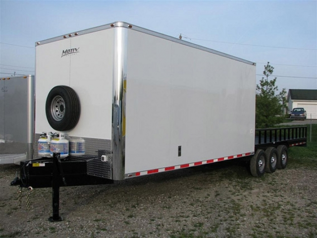 Custom Trailers, Oil, Gas, Hybrid, Oilfield, Work
