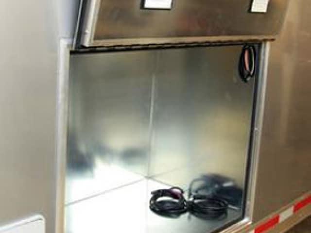 Insulated Generator Compartment, Custom Trailer, Options
