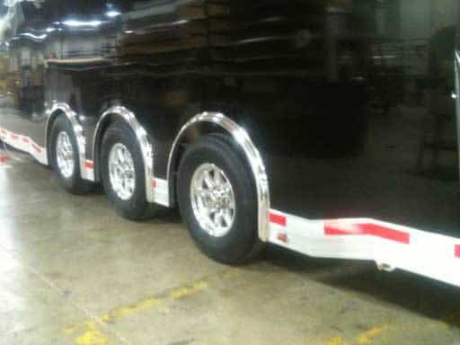 Low Profile Perimeter Skirting Triple, Axles, Tires, Custom Trailer Options