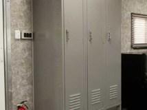 Locker Storage, Cabinets, Custom Trailer Options