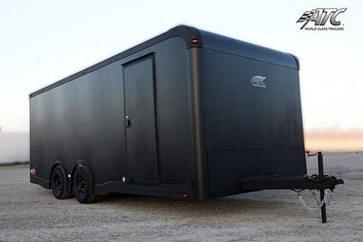 Matte Black, Premium Colors, Custom Trailer Options