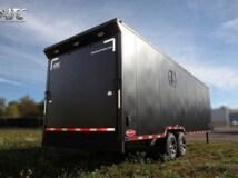 Custom Trailers, Car Hauler, Sport, Snowmobile, Matte, Goose V, Aluminum