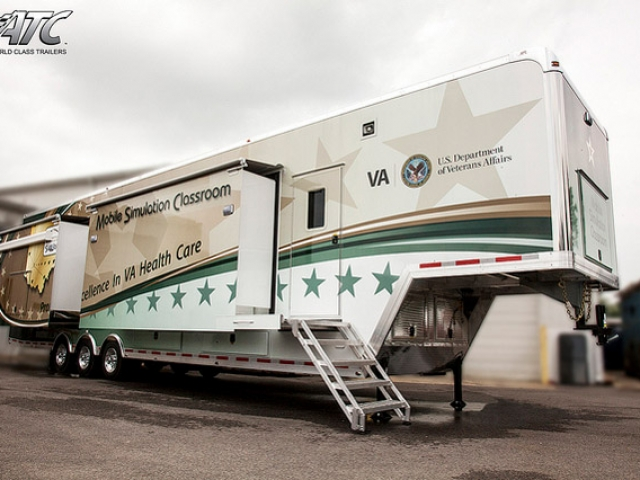 Custom Trailers, Simulation, Medical, Mobile