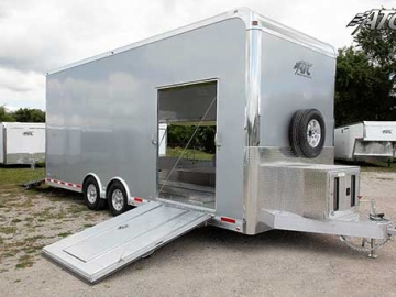 Metallic Gray, Premium Colors, Custom Trailer Options