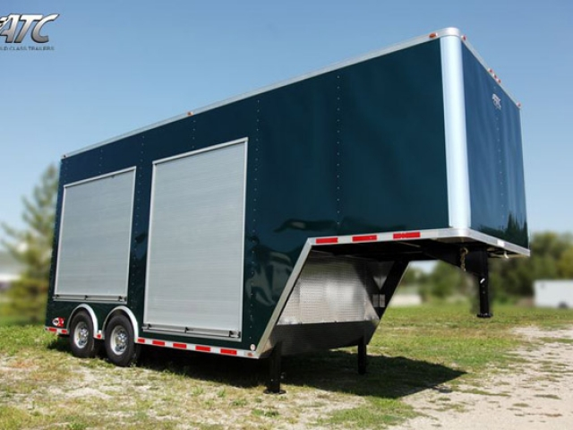 Custom Trailers, Gooseneck, Miscellaneous, Enclosed