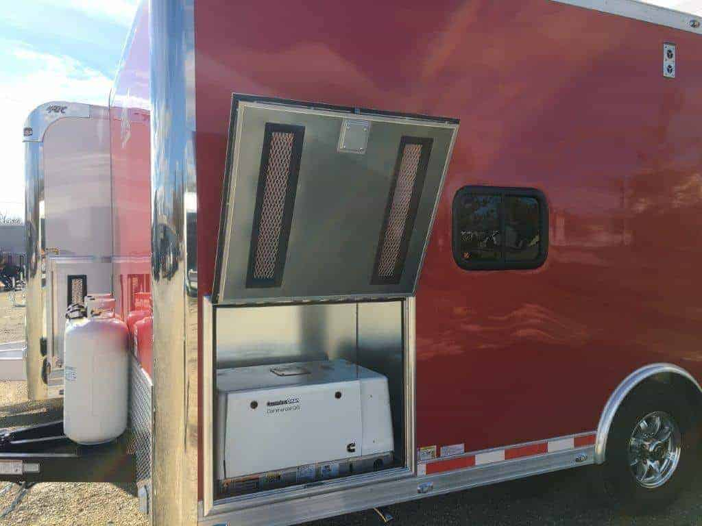 Modular Classroom Auction ~ Mobile auction trailer mo great dane trailers