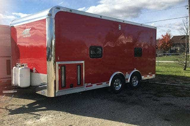 Mobile Auction Trailer