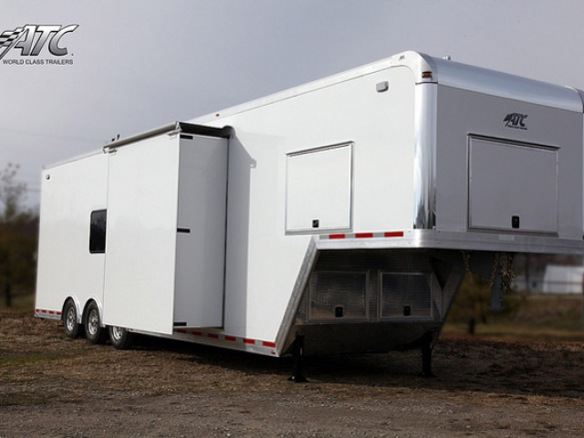Custom Trailers, Commercial Custom Trailers, Mobile Casino Trailer