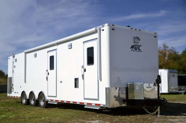 Mobile Command Center Mobile Office Trailer