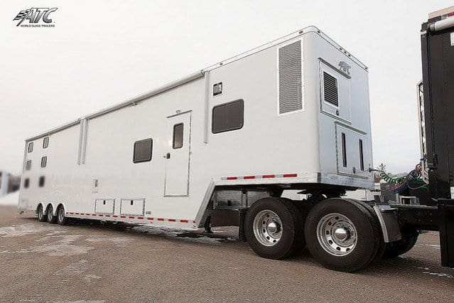 Custom Trailers, Emergency Management, Mobile Command, Semi Tractor