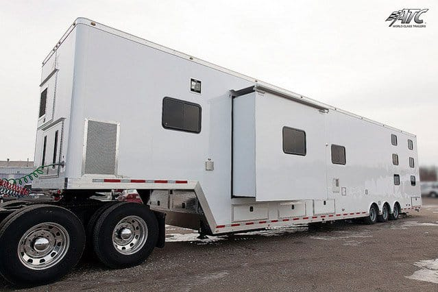 Mobile Command Tractor Custom Semi Trailer Mo Great Dane