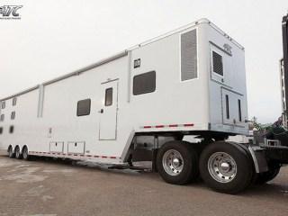 Mobile Command Tractor Semi Trailer