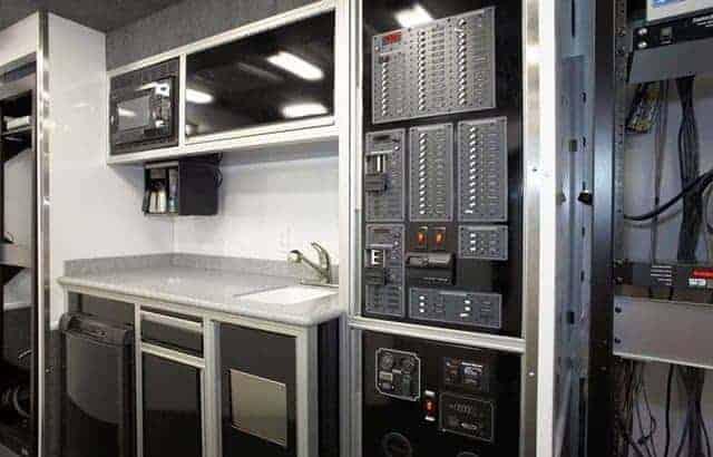 Mobile Command, Vehicle, Custom Trailer, Emergency Management, MO Great Dane