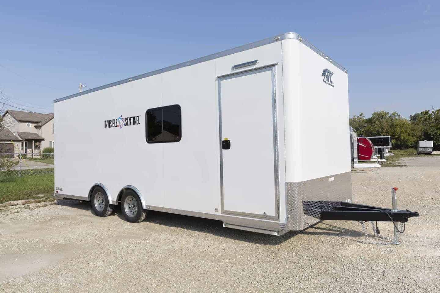 Mobile, Laboratory Trailer, with Sink, Lab Trailer, Mobile Lab, Custom Trailer, MO Great Dane, ATC