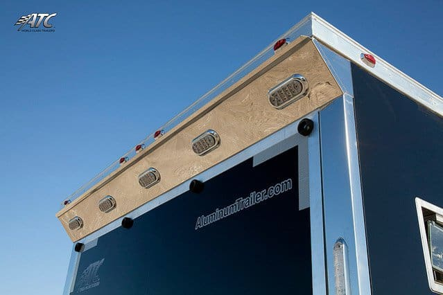 Custom Trailers, Mobile, Marketing, Fold Down, Stage
