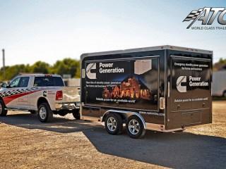 Custom Trailers, Mobile Marketing, Graphics Wrap
