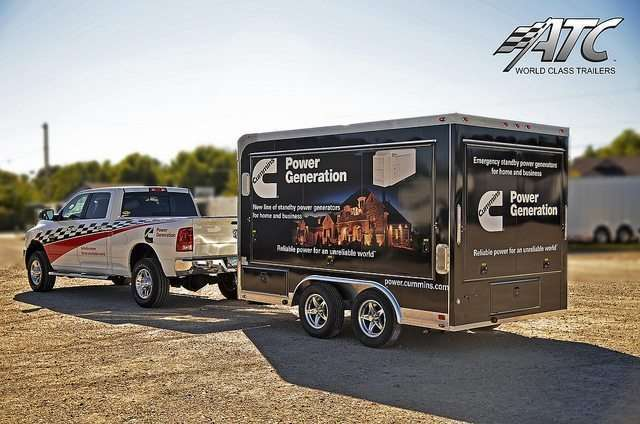 Mobile Marketing Trailer Graphics Wrap