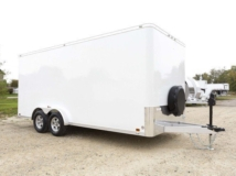 Mobile Marketing, Trailer, Hardwood, Vinyl Flooring, Custom Trailer, MO Great Dane, ATC