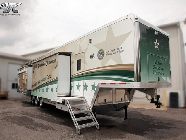 Custom, Medical Trailers, Mobile