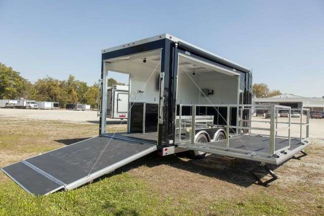 Mobile Recruiting Stage Trailers
