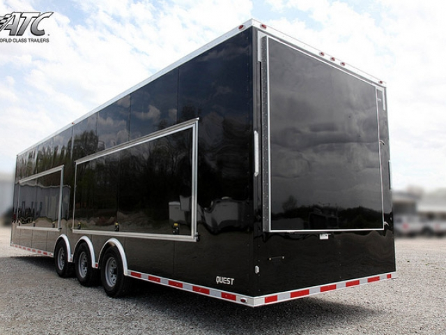Custom Trailers, Mobile, Marketing, Retail, Merchandise,  Folding, Sign, Display