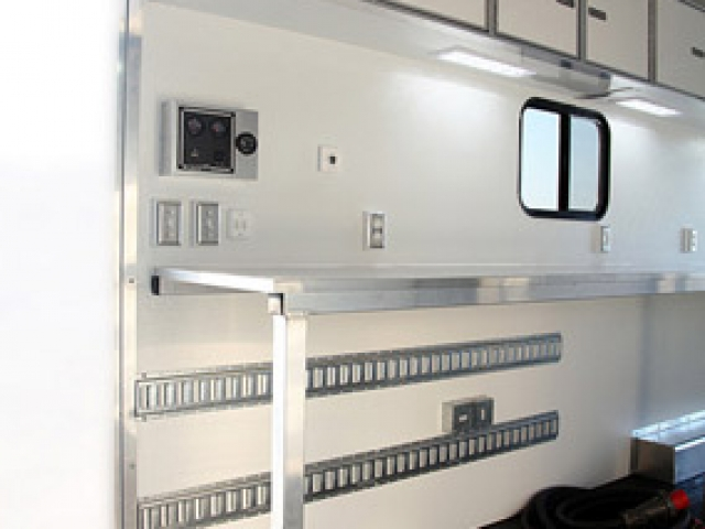 Custom Trailers, Gooseneck, Mobile Workshop, Aluminum, Cargo