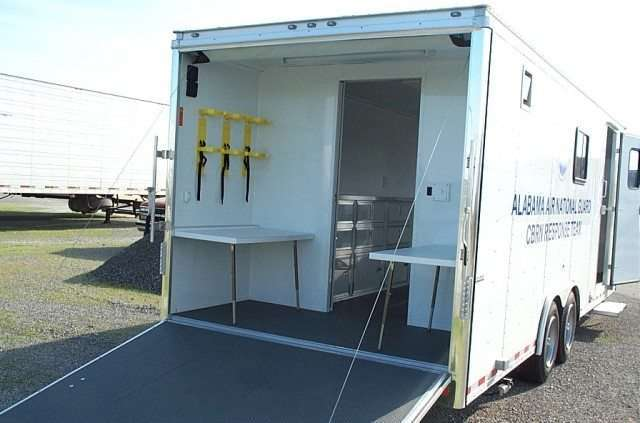 National Guard CBRN Response Trailer