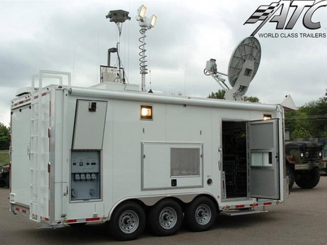 Custom Trailers, Emergency Management, Communications, National Guard