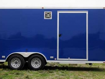 New Pepsico Blue, Premium Colors, Custom Trailer Options