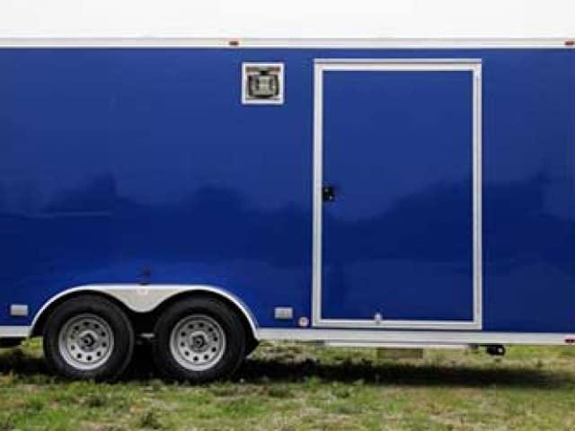 New Pepsico Blue, Premium Colors, Custom Trailer Options