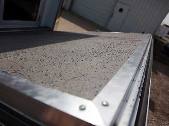 Non-Skid Grit, Flooring, Custom Trailer Options