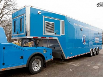 North American Blue, Premium Colors, Custom Trailer Options