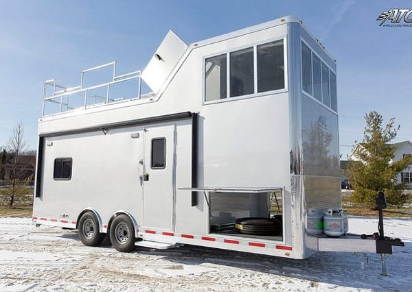 Emergency Management - Mobile Command - Observation Tower Mobile Command Trailer