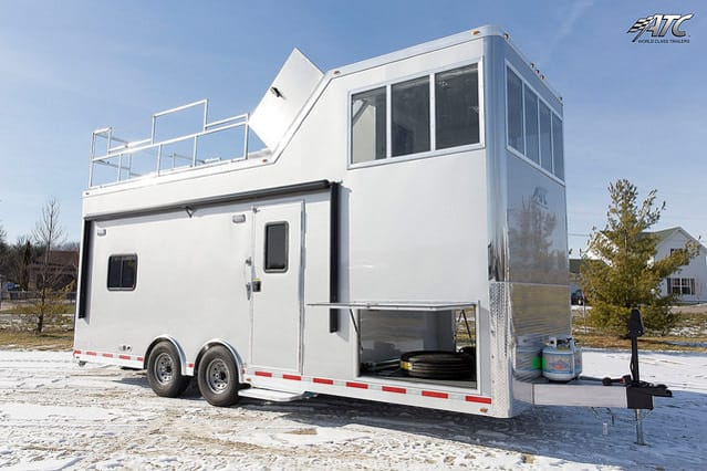 Observation Tower Mobile Command Trailer
