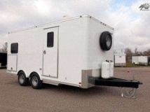 Oil Field, Locker Room Trailer, Custom Trailer, MO Great Dane