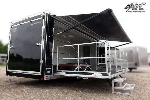 Mobile Portable Stage Trailer