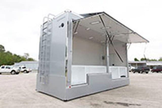 Product Display Merchandise Trailer