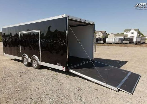 Car Hauler - Bumper Pull Race Trailers 8