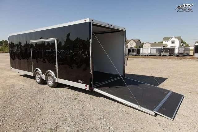 Car Hauler - Quest Factory Stock Bumper Pull Race Trailer