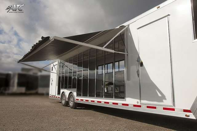 ATC Gooseneck Car Display Trailer