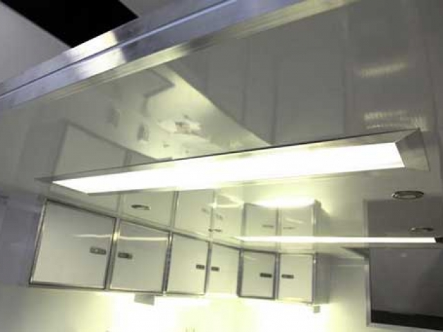 Recessed Fluorescent Light, Voltage, Custom Trailer Options